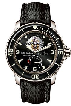 #Blancpain #Tourbillon Fifty Fathoms #watch #watches