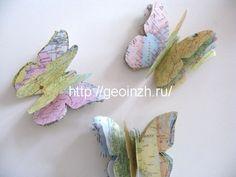 бабочки из карт