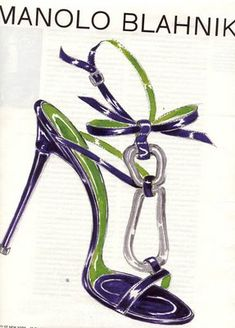 Manolo Blahnik design.