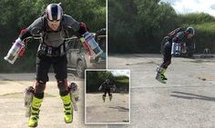 A British inventor has built a functioning Iron Man flight suit with miniaturised jet engines and a specially designed exo-skeletal suit to reimagine the future of flying.