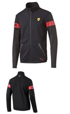 Racing-Formula 1 2876: Puma Scuderia Ferrari Sweat Jacket Black Size M, L, Xl -> BUY IT NOW ONLY: $69.99 on eBay!
