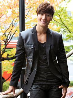 kim jong kook - I like the outfit but he gotta cut the hair ...