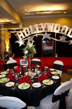 Hollywood Themed Gala