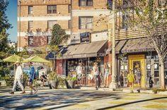 Silverlake Triangle. #silverlaketriangle #sunsettriangleplaza #streetphotography #hat #pineandcrane #restaurant #silverlake #losangeles #california #usa #sony #sonyalpha #sonyimages #alpha #zeiss #carlzeiss #nikcollection