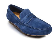 Rockport Greenbrook Mens Suede Leather Slip On Moccasin - Robin Elt Shoes  http://www.robineltshoes.co.uk/store/search/brand/Rockport-Mens/ #Autumn #Winter #AW14 #2014