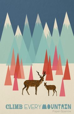 #musicfes #poster  Paper Sparrow: The Sound of Music: Climb Every Mountain