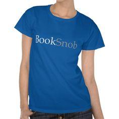 BookSnob Womens Shirt