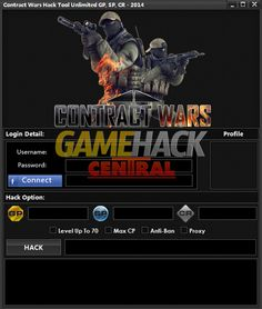 Contract Wars Hack How To Get Unlimited GP / SP / CR / Level Up & Max CP