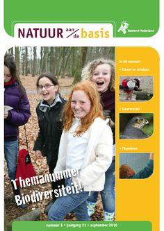 Natuur aan de Basis - Tjdschrift voor natuuronderwijs dat bijvoorbeeld leerkrachten, pedagogisch medewerkers en NME-ers ondersteunt om...