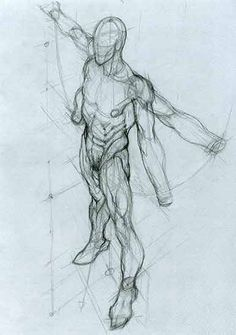 How to Draw the Human Body - Study: Anatomy for Comic / Manga Character Reference