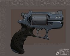 Another Geind revolver, this one a later model than the previous one I just posted. As with the EL-522 this one employs the same principle of using flechette (Shett dart or SABOT) shells that have ...