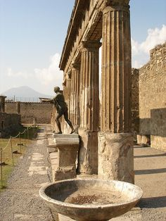 Pompeii - this architecture was the standard by which they lived - what is our current standard - the strip mall and the mini mart - our architecture will not hold up to the test of time