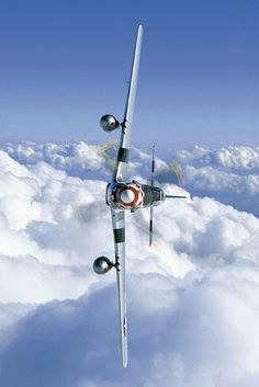 P-51 Mustang - the most awesome plane EVER!  If it could fit in my garage, it would be there. :)