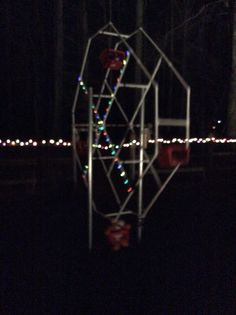 Animated Ferris wheel....see it in action on YouTube Nokesville Haunt Channel