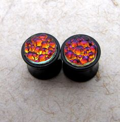 00g Plugs Bubble Juice Double Flare Plugs by AshleySpatula, $22.50