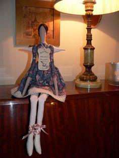 Tilda doll - Angel doll - Handmade - Vintage - Gift - Home decoration - Home decor - Interior by TundeFairys on Etsy