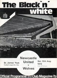 East Stand/Leazes Terrace. St James' Park. Newcastle. 1972