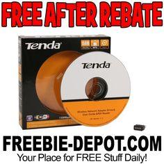 ►► FREE AFTER REBATE - Tenda Wireless Pico Adapter - $20 Value - LIMIT 2 - Exp 1/22/17 ►► #Free, #FreeAfterRebate, #FREEStuff, #FREEbate, #Freebie, #Frugal, #NeweggCom ►►