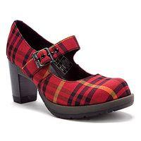 Tarten high heeled Dr Martens (Marlena shoe)