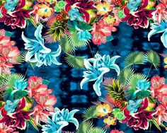 O tropicalismo das estampas de Adriana Barra