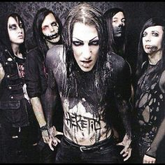Motionless In White. Syncronized head-banging since day 1