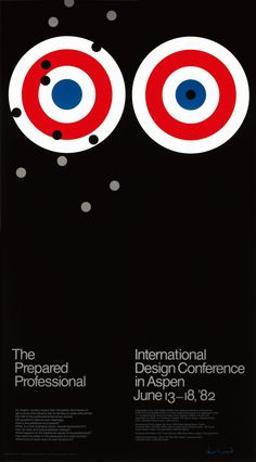 Paul Rand | international design conderence | poster visual design