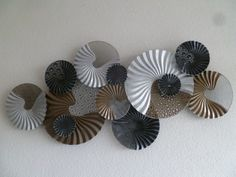 3D wanddecoratie van metaal Zara - ABSTRACT - DEKOGIFTS Abstract, Zara, Vintage, Summary, Vintage Comics