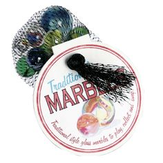 Bag 125g Swirly Marbles | DotComGiftShop