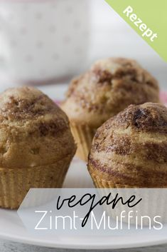 schnell gemacht mit nur wenigen Zutaten  #veganbacken #einfach #veganemuffins