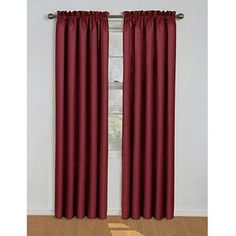 The curtains I already have, to be used on the window in our room. Burgandy and eggplant! Yes! Love it.