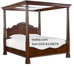 https://flic.kr/p/ML87fH | Poster Untitled Poster bed | www.teakia.com/bedroom.html
