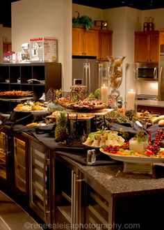 Appetizer display by Catered Creations, Inc.  http://www.cateredcreationsinc.com/
