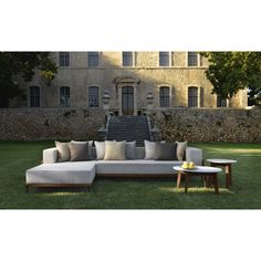 Cleo Sectional, Contemporary Outdoor Furniture Design At Cassoni.com