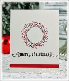 The Flat Christmas Card Trio