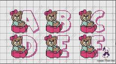 Monograma ursinha