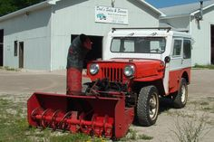 1946 Willys Cj 2a G E Welder Powered By Center Pto