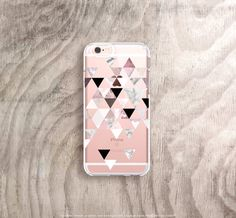 iPhone 6s Case Clear Marble iPhone 6S Plus Case by casesbycsera