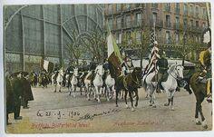 Circus Buffalo Bill Wild West Mexico original old 1910s postcard