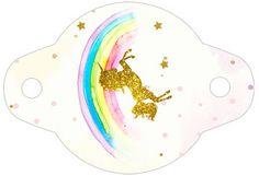 Gratis Unicorn Kit å skrive ut: tag Unicorn Printables, Party Printables, Party Kit, Baby Party, Unicorn Birthday Parties, Unicorn Party, Unicorns And Mermaids, Paper Gift Box, Class Decoration