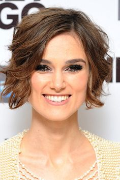 Keira Knightley short hair