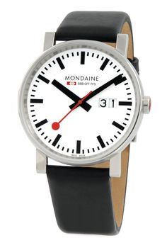 Mondaine watches. Beautifully elegant and understated.