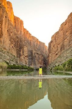 Santa Elena Canyon Trail is a 1.7 miles round trip, moderate hike. You don't have to do the entire hike to enjoy the views. Looking for the coolest things to do in Big Bend National Park? This post is packed with the spots you can't miss and travel tips to help you make the most of your visit // Local Adventurer #texplorer #traveltexas #findyourpark #bigbend #localadventurer #bigbendnationalpark #texas Texas Travel, Travel Usa, Travel Tips, Waimea Canyon, Thing 1, Best Hikes, Round Trip, Travel Images, Wonders Of The World