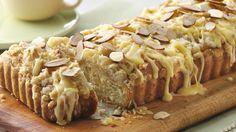 A Pillsbury Bake Off finalist from Michigan, Bee Engelhart's, Sweet Orange and Toasted Almond Coffee Cake recipe from Pillsbury.com