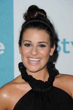 Lea Michele's best makeup and beauty looks —August 2011