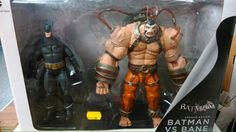 Batman and Bane action figure two pack