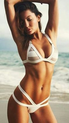 Brazilian Mesh Bandage Bikini