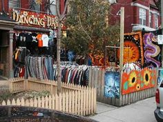 One of our favourite quirky little Kensington Market stores - Dancing Days. Canada Eh, Toronto Canada, Stuff To Do, Things To Do, Dancing Day, Downtown Toronto, The Province, Niagara Falls, Night Life