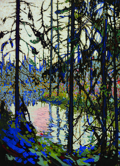 """Study for """"Northern River"""", 1914 by Tom Thomson on Curiator, the world's biggest collaborative art collection. Tom Thomson, Canadian Painters, Canadian Artists, Nocturne, Art Gallery Of Ontario, Catalogue Raisonne, Group Of Seven, Landscape Paintings, Landscapes"""