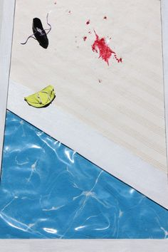 wall art paint recycle repurpose swimming pool by popRenaissance