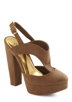 Kicks and Match Heel in Taupe